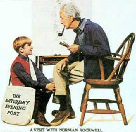 A Visit With Norman Rockwell