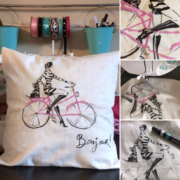 A personal favorite from my Etsy shop https://www.etsy.com/ca/listing/492407988/decorative-pillow-with-embroidery-and