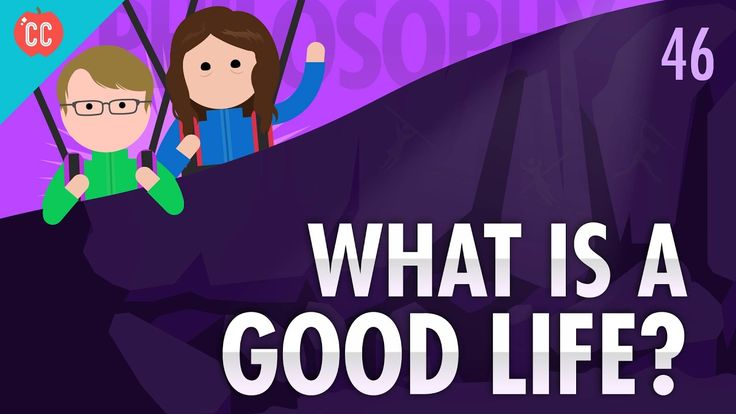 In our final episode of Crash Course Philosophy, we consider what it means to live a good life. We'll look at the myth of Sisyphus, Robert Nozick's experienc...