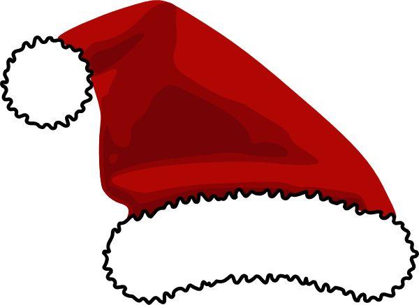 printable santa hat  Santa Hat For Logo clip art  vector