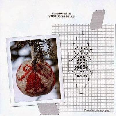 """Милые сердцу штучки: Вязание на спицах: """"55 Christmas Balls"""" (55 рождественских шаров)"""