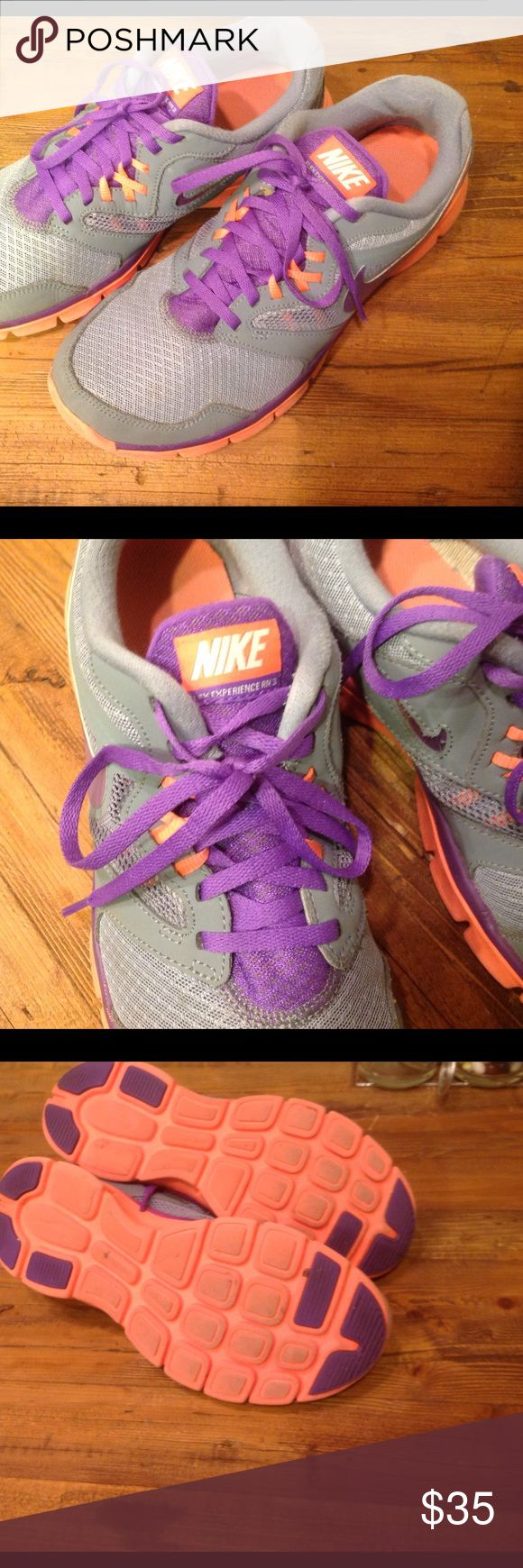 Nike Flex Experience RN3 Good condition Nike Flex Experience RN3 running shoes.  Plenty of miles left in these shoes. Nike Shoes Athletic Shoes