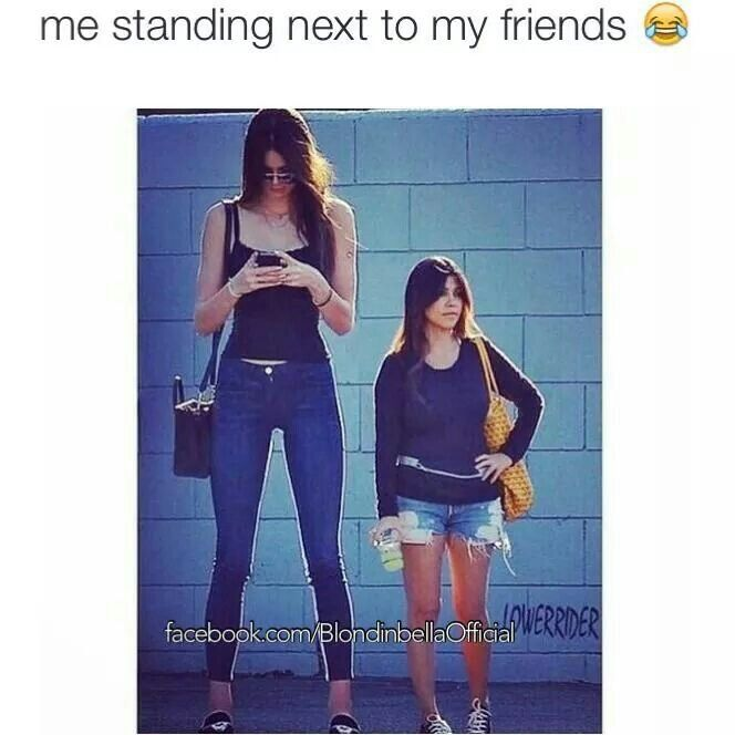 Repin for the taller one, like for the shorter one.>>>I'm the tall one :'( It's awkward sometimes>>>I am the tall one haha