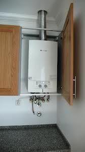 Boiler In Bathroom Cupboards