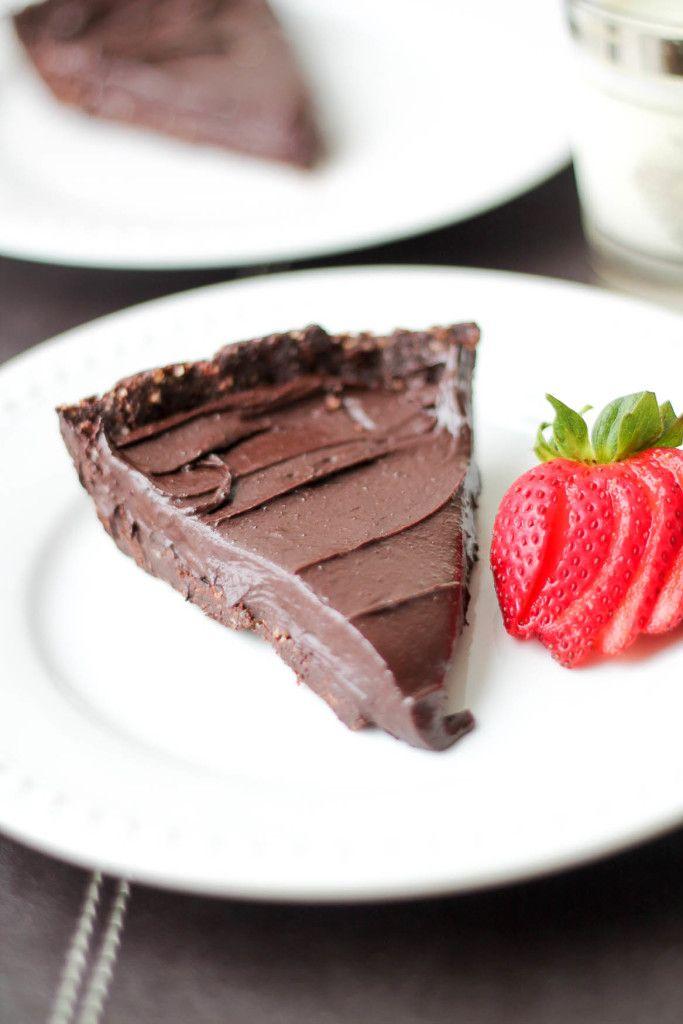 Double Chocolate Hazelnut Torte #dessert #recipe #vegan #vegetarian #cleaneating #glutenfree #paleo