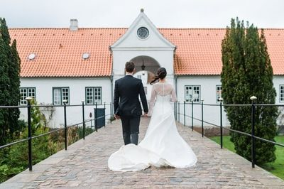 Hochzeitsreportage auf Schloss Glücksburg...