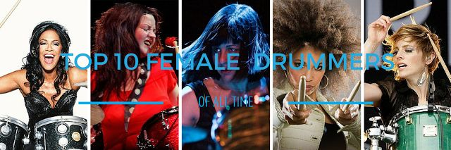 Just Beat it with World's Top 10 Female Drummers who Inspired Generations