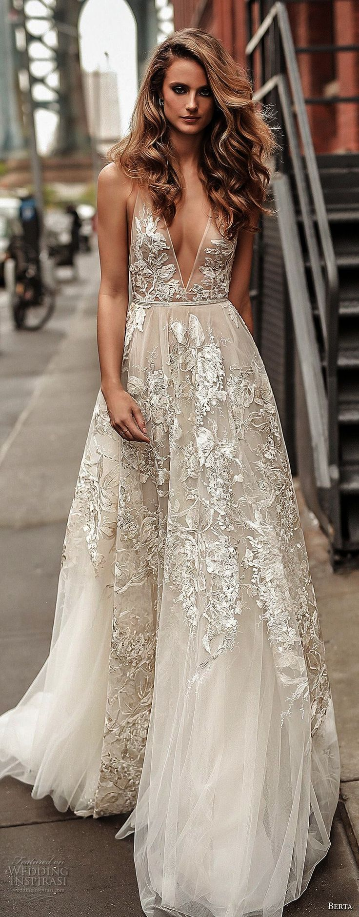 best Hitched images on Pinterest  Bridal gowns Wedding frocks