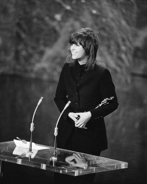 "1972 Oscars: Jane Fonda, Best Actress 1971 for ""Klute"""