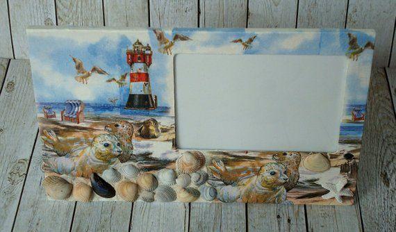 Picture Frame Seals Lighthouse Bilderrahmen Gestalten