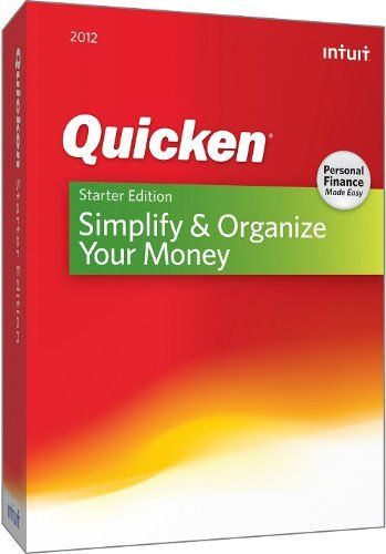 #http://pfpins.com/quicken-starter-edition-2012/ Quicken Starter Edition Personal Finance Software helps you simplify and organize your money so you can see where you're spending  http://ultimatesoftwaredownload.com