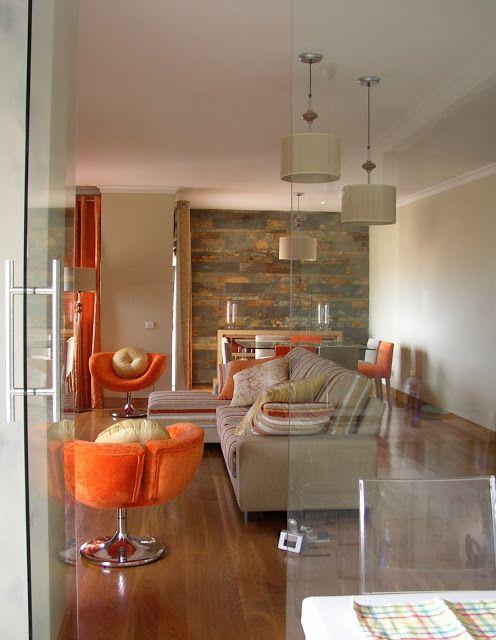 Una idea de espacio abierto sal n comedor con cocina en for Cocina salon espacio abierto