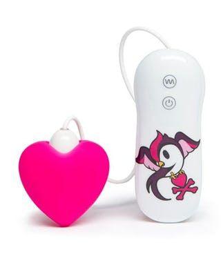 tokidoki 7 Function Silicone Pink Heart Clitoral Vibrator