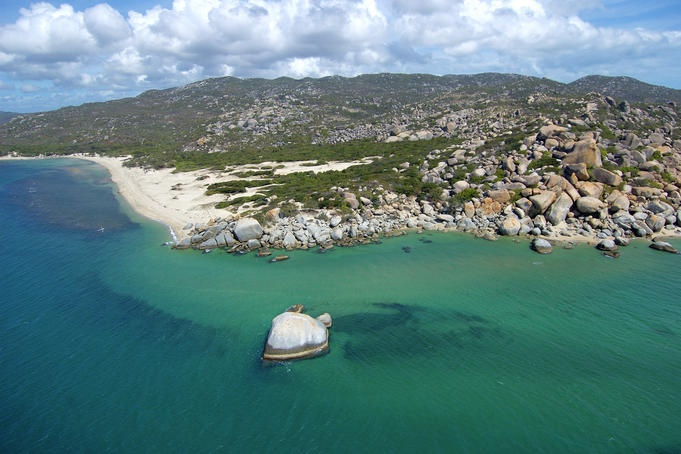 Cooktown, Queensland  Coastline of Cape York, north of Cooktown.