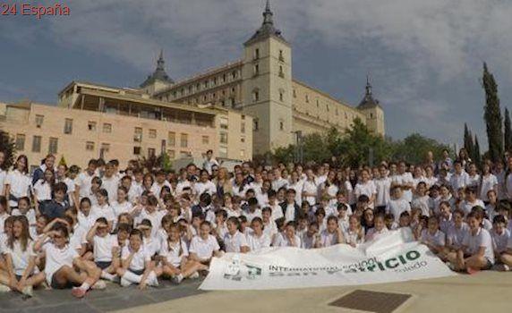 Alumnos del colegio San Patricio toman las calles