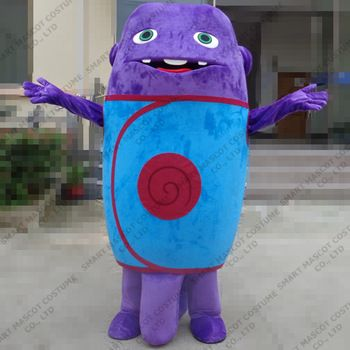 Oh Alien band mascot costume adult cartoon house Unisex soft plush Oh abroad mascot costume