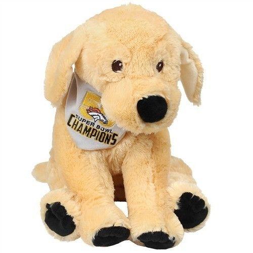 NFL Denver Broncos 2015 - 2016 Super Bowl 50 Champions Puppy Dog