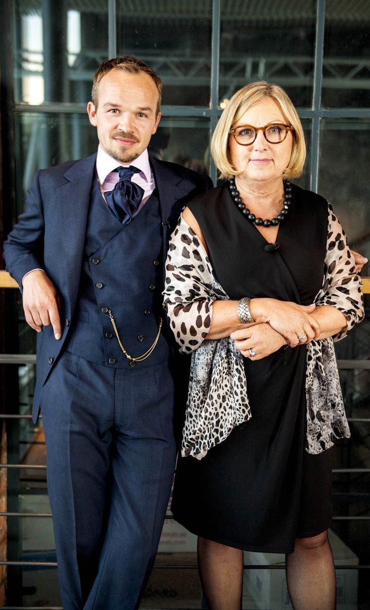Bakom kulisserna på Hela Sverige syr: Vår stiliga jury i form av Frederik Andersen och Lisbeth Stålborg #HelaSverigesyr