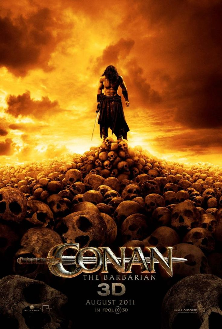 Ellen page films where she breaks the mold pop mythology - Conan The Barbarian 2011 Movie Posters