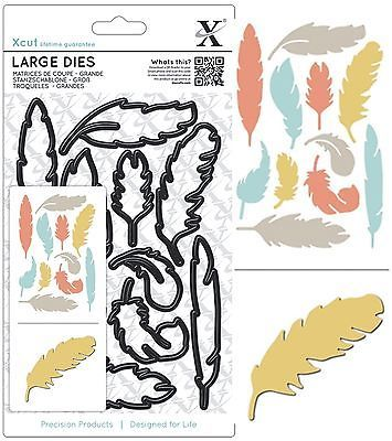 #Docrafts xcut #large die set #feathers set cutting dies new universal fit,  View more on the LINK: http://www.zeppy.io/product/gb/2/151400857287/