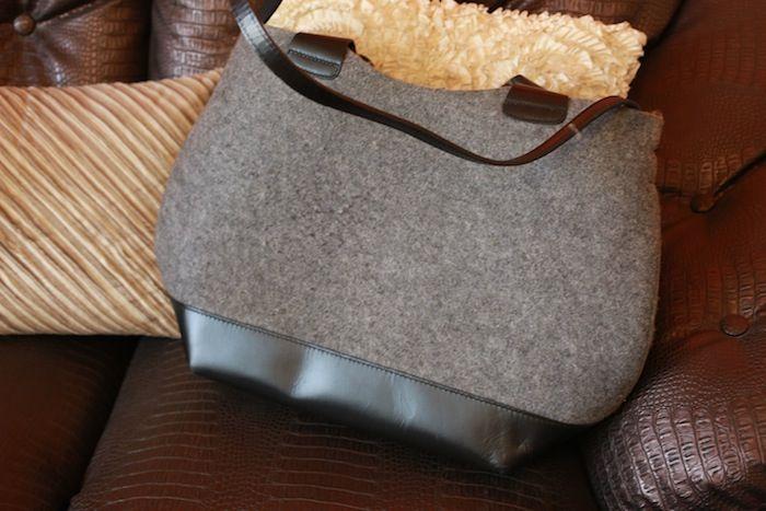 #grey #black #zara #bag
