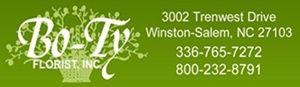 Florist, Winston-Salem NC, Winston Salem NC, Clemmons NC, Lewisville NC, Advance NC, Kernersville NC , BoTyFlorist.com
