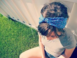 DIY Head Wrap, Totally easy! Amazingly simple to follow.
