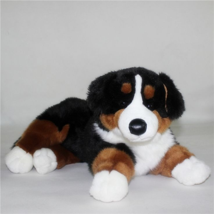 27.95$  Buy here - http://ali2a8.shopchina.info/go.php?t=32799906146 - Big Stuffed  Animal Toy Cute  Plush Bernese Mountain Dog Doll Toys for Children Gift Pillow  #aliexpress