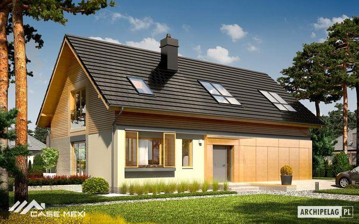 Proiectul BENJAMIN II propune o locuinta cu mansarda, de dimensiuni medii, cu o arhitectura contemporana.
