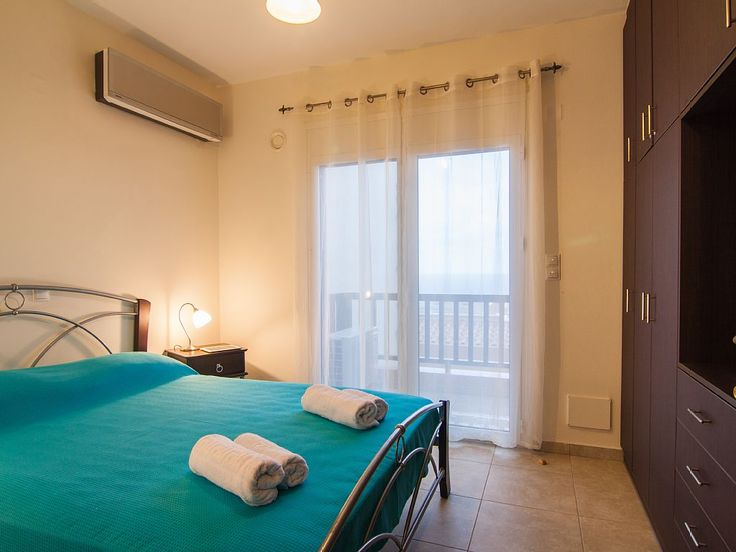 Rethymno apartment rental - Bedrooms have balcony access! Take a breath of fresh air when you wake up!