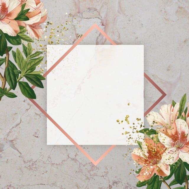 Floral Frame Png And Psd Flower Background Wallpaper Frame Floral Background