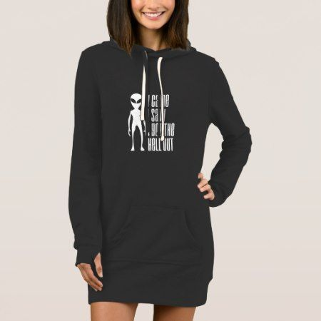 Disappointed Alien Women's Hoodie Dress * UBM - tap, personalize, buy right now!