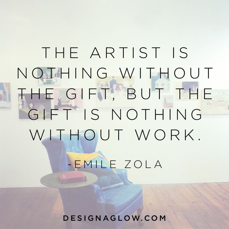 inspired words from emile zola - Design Aglow