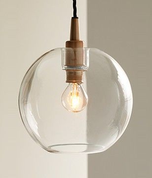 Our gorgeous Gloria pendant light is complete with a glass bowl design that can transform a simple room into a chic domain. The copper effect finish is a stunning contrast with the clear glass, infusing different materials for a contemporary feel. Pair with a decorative bulb for a mesmerising look, or with a golfball LED bulb to optimise the amount of light in your room.