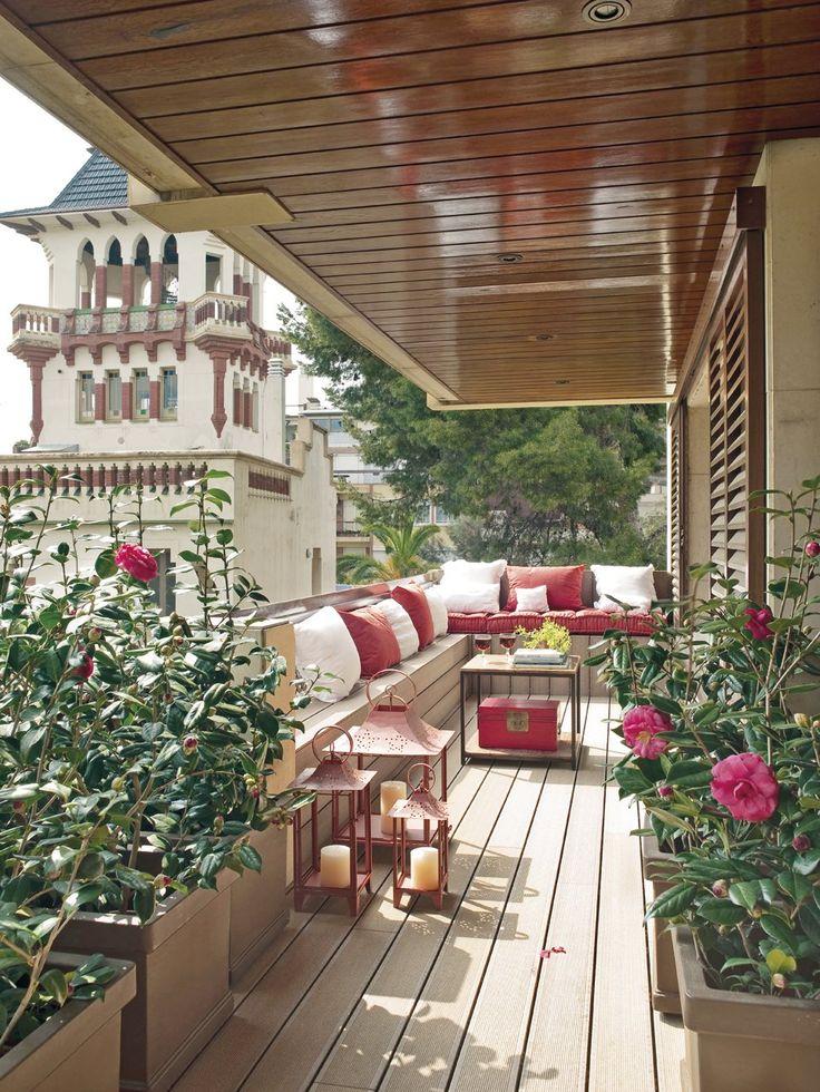 10 exteriores pequeños bien aprovechados · ElMueble.com · Casa sana