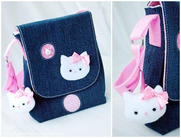 Patrón de bolso para niña