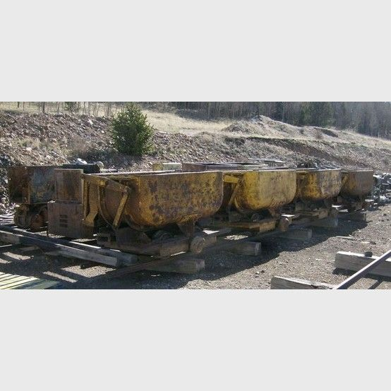 Granby type ore car supplier worldwide | Used 24 inch Granby side dump mine cars for sale - Savona Equipment