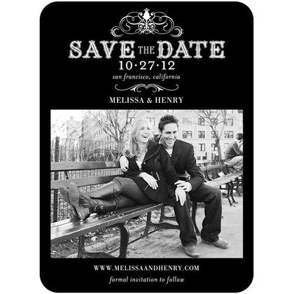Gorgeous save the date.