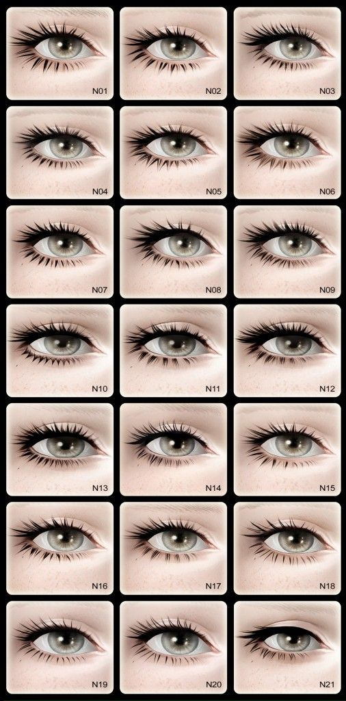 S-Club Privée | Eyelash Design Set III