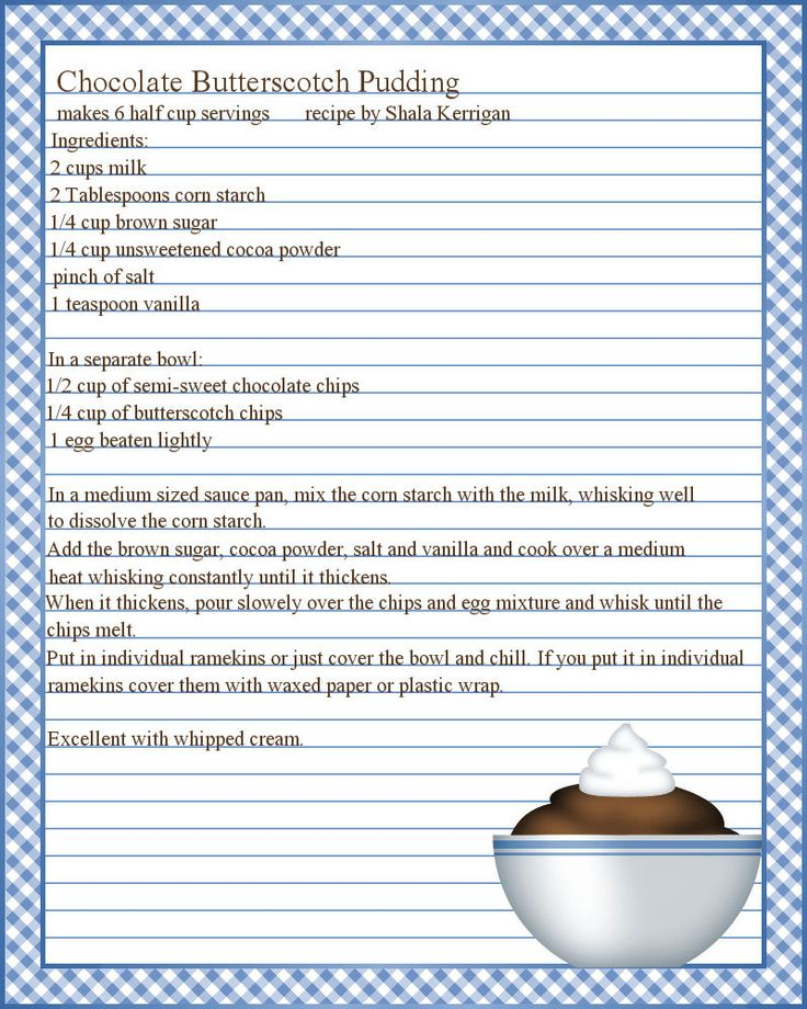 cookbook template for microsoft word