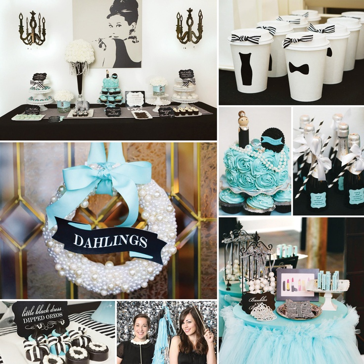 Glitz & Glam Audrey Hepburn Inspired Party