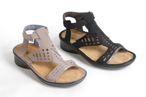 STRING by Naots: Orthotic friendly gladiator style sandal.