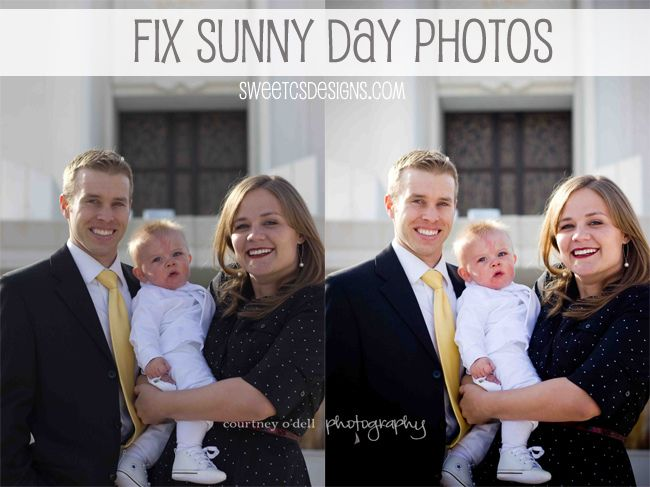 How To Fix Sunny Day PhotosCourtney O' Del, C S Design, Sweets C S, Photography Editing, Sunny Photos, Photography Photoshop, Photoshop Tutorials, Editing Bright, Photos Editing