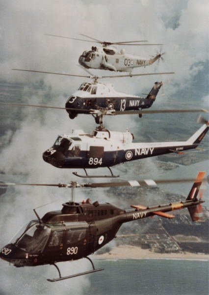 RAN Helicopters circa 1980