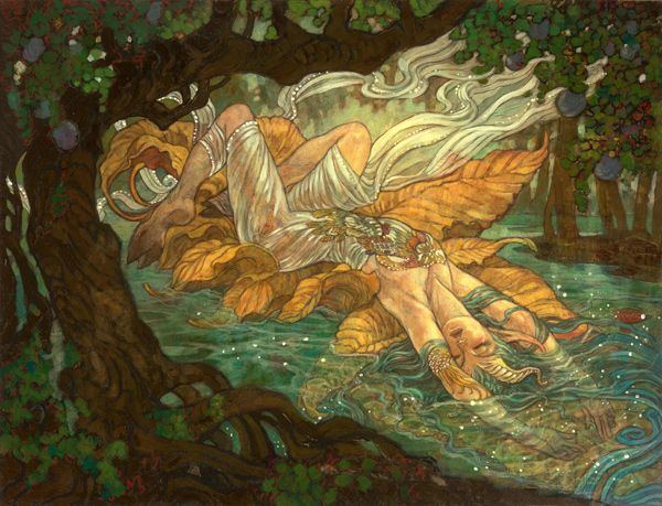 Stream of Unconsciousness art by Rebecca Guay