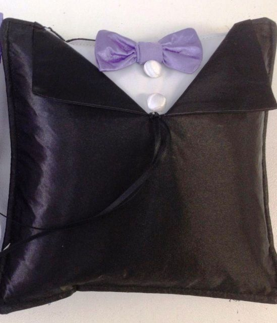 """Ring Pillow - """"The Groom"""""""