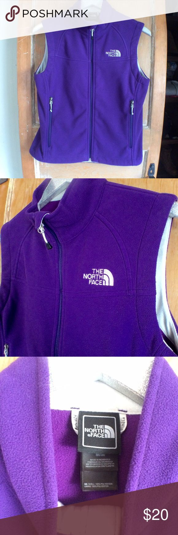 UW Husky colored xtra soft North Face fleece vest This super soft fleece vest is perfect for wearing to your next University of Washington game. Go huskies! Perfect purple and gray colors with extra soft fleece in great shape. Size M! 🌿🌞 The North Face Jackets & Coats Vests