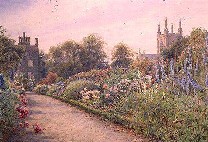 Le jardin de Dean trou de Ernest Arthur Rowe (1863-1922, United Kingdom)