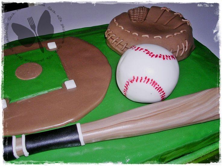 Torta campo da baseball