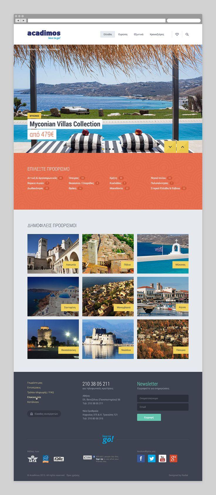 Acadimos Travel | Radial